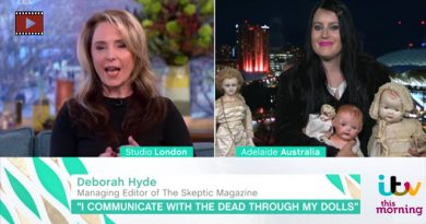 I Communicate With the Dead Through My Antique Dolls : ITV 'This Morning'